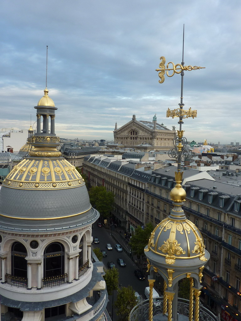daily photo in paris from the printemps rooftop. Black Bedroom Furniture Sets. Home Design Ideas