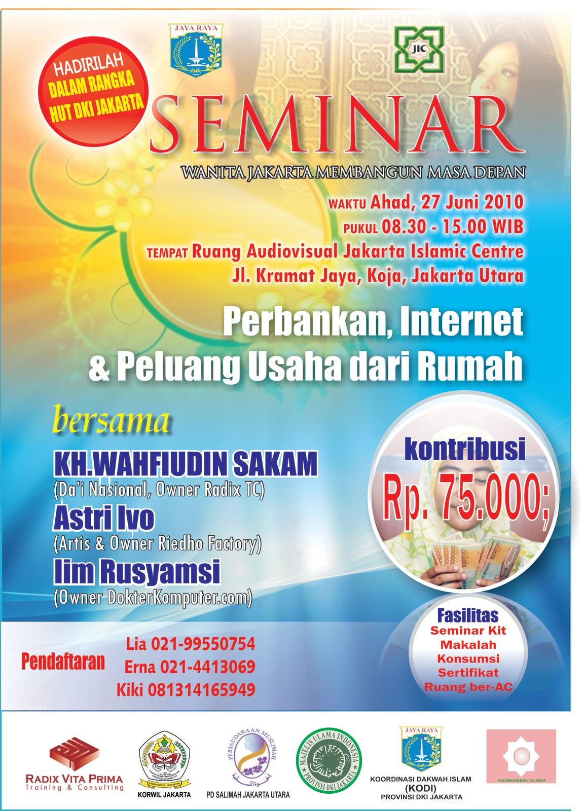 Contoh Brosur Seminar