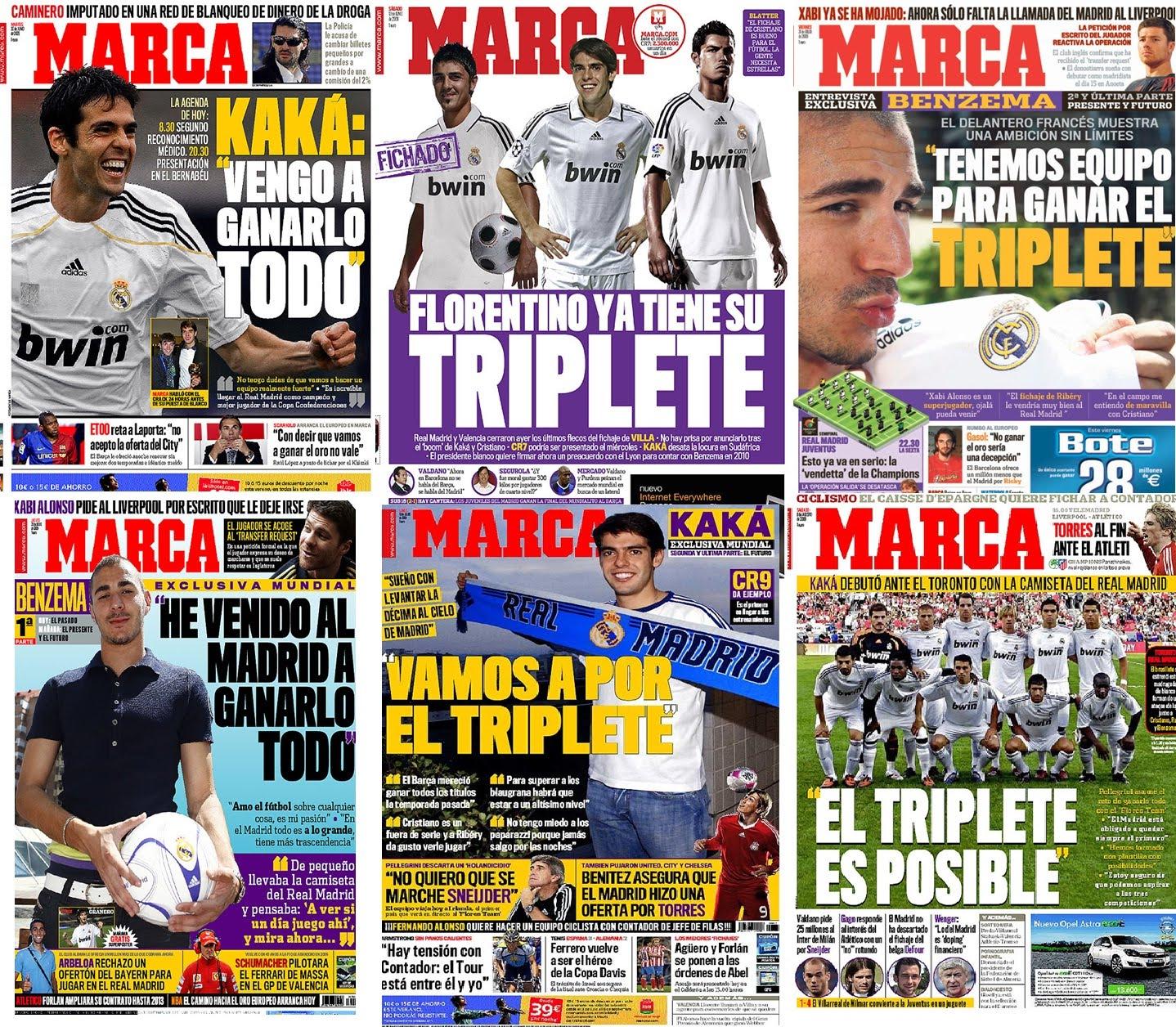 Cagada de portadas Marca+triplet