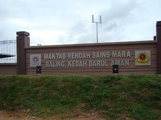Maktab Rendah Sains Mara, Baling
