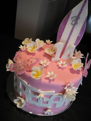 Breeannas 14th Birthday Cake