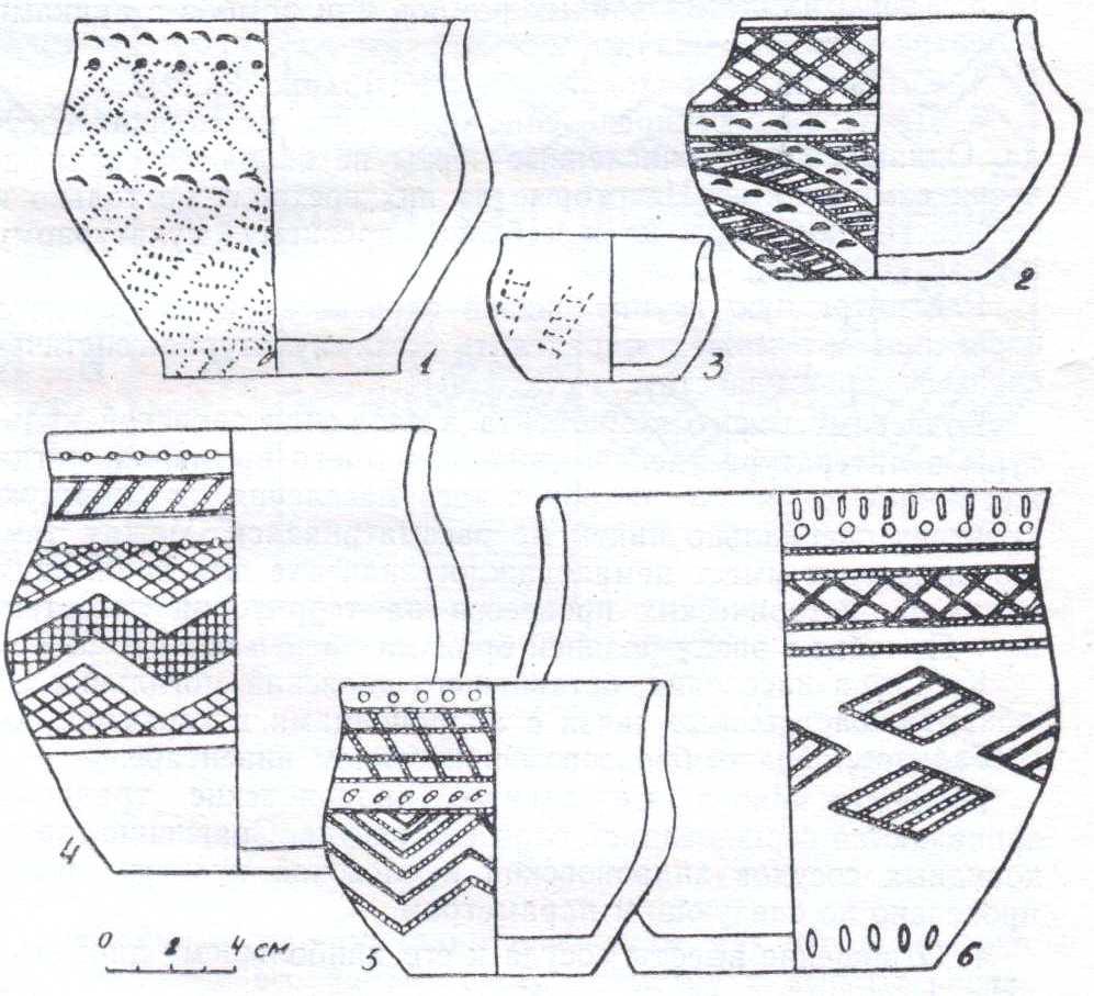 Узоры для посуды схемы