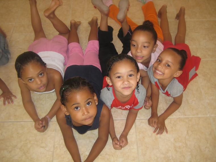 Crianças do Projeto