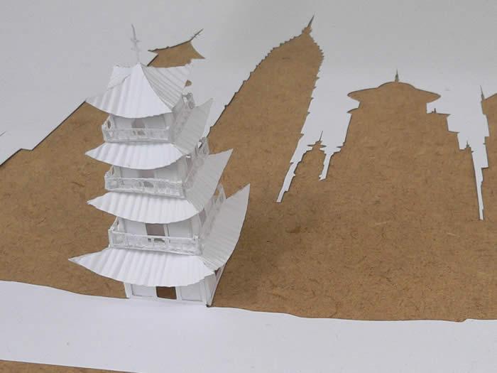 Как сделать домик с одного листа бумаги