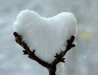 thank you hearts snow