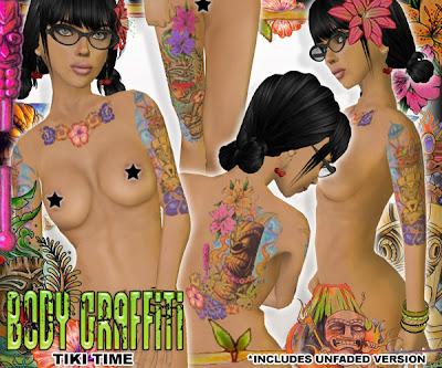 New @ Canimal: Tiki Time Tattoos