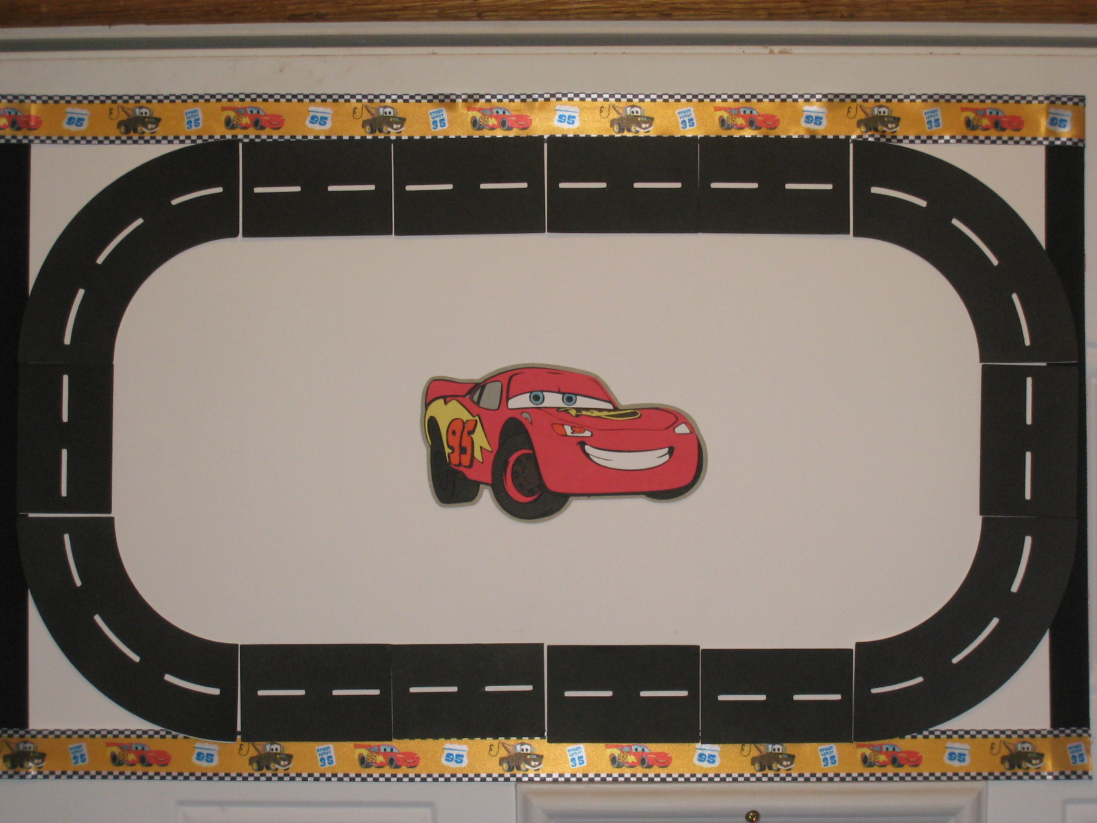 It is an image of Gargantuan Printable Race Track