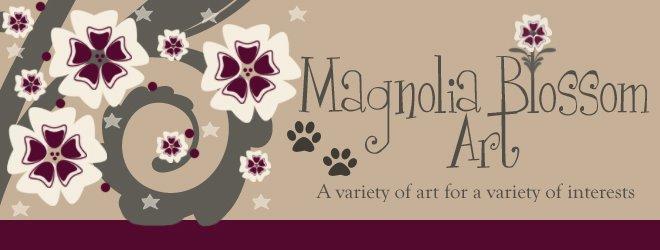 Magnolia Blossom Art