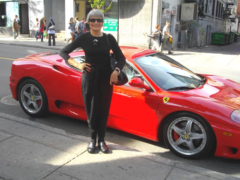 Idiosyncratic Fashionistas: Car Crazy   Does This Ferrari Make My Butt Look  Big?