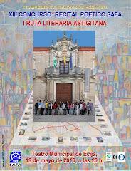 Cartel 2010:  Fotomontaje: Antonio García Visglerio