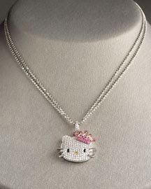 Join the gossip hello kitty is fashion under simmons jewelry she produces various high end pieces including the princess kitty diamond pendant which sells for 4250 mozeypictures Gallery