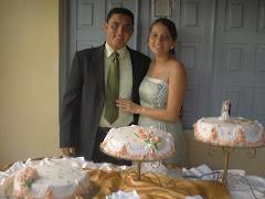 Bolo do Casamento de Roberta e Diego!!!!