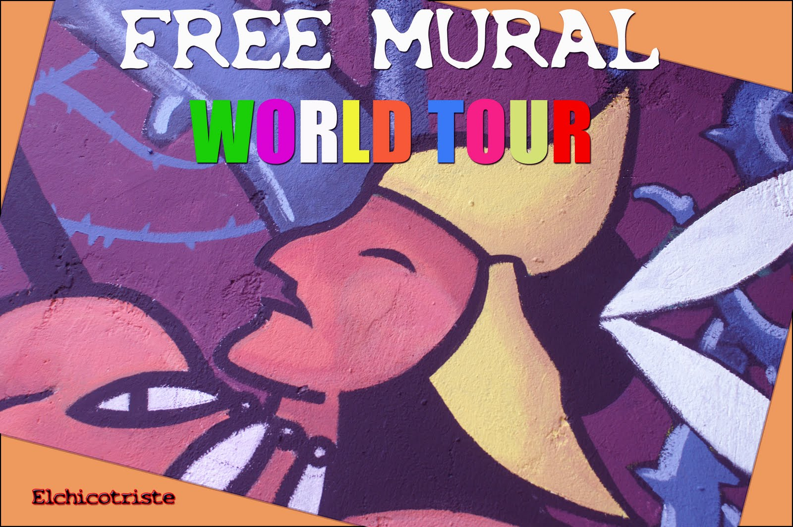 FREE MURAL WORLD TOUR