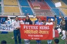 Mr. Bishnu in Peace rally