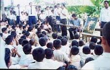Mr Bishnu interaction with school Children For Save Tiger