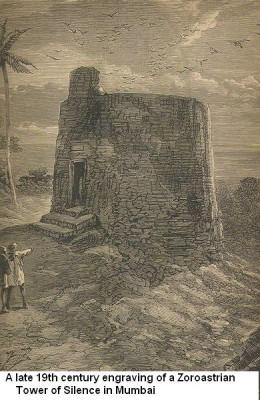 towerofsilence 10 Ritual Pemakaman Unik dan Aneh di Dunia
