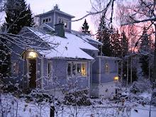 Berghem talvella  -  på vinter