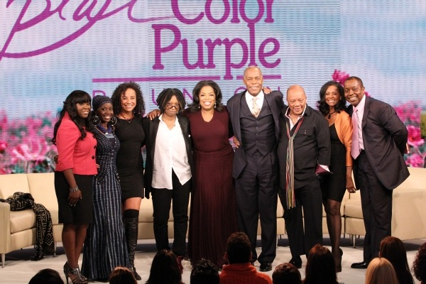 Color Purple Cast (missing Is Actor Adolph Caesar, Who Passed In 1986