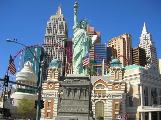 las vegas casino map 2011