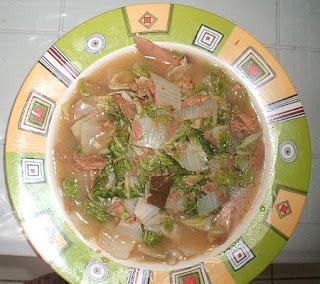 Delicious tuna recipe