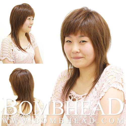 Korean haircut inspiration from http:/ombhead.com