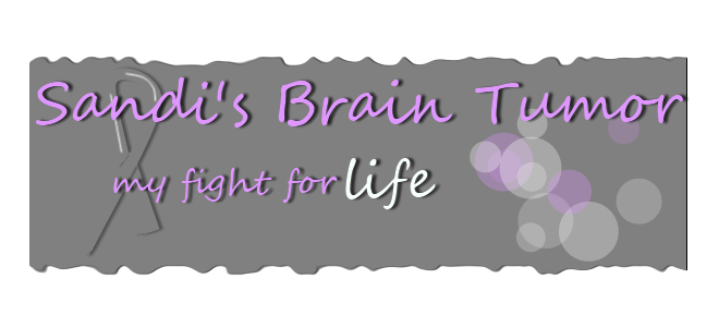 Sandi's Brain Tumor - My Fight for Life