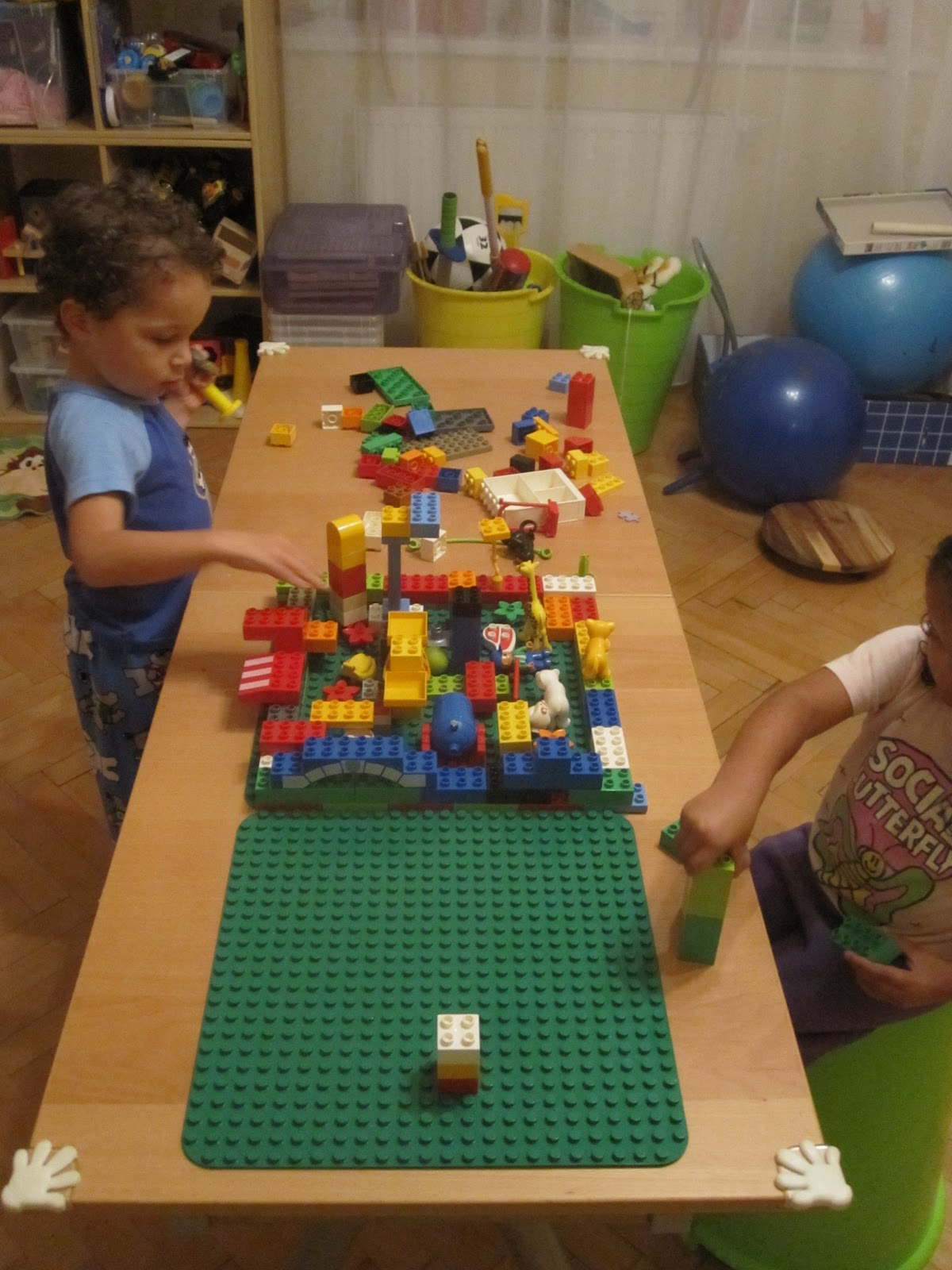 Parenting in Prague: Homemade Lego Table and the Best Kid\'s Desk Ever