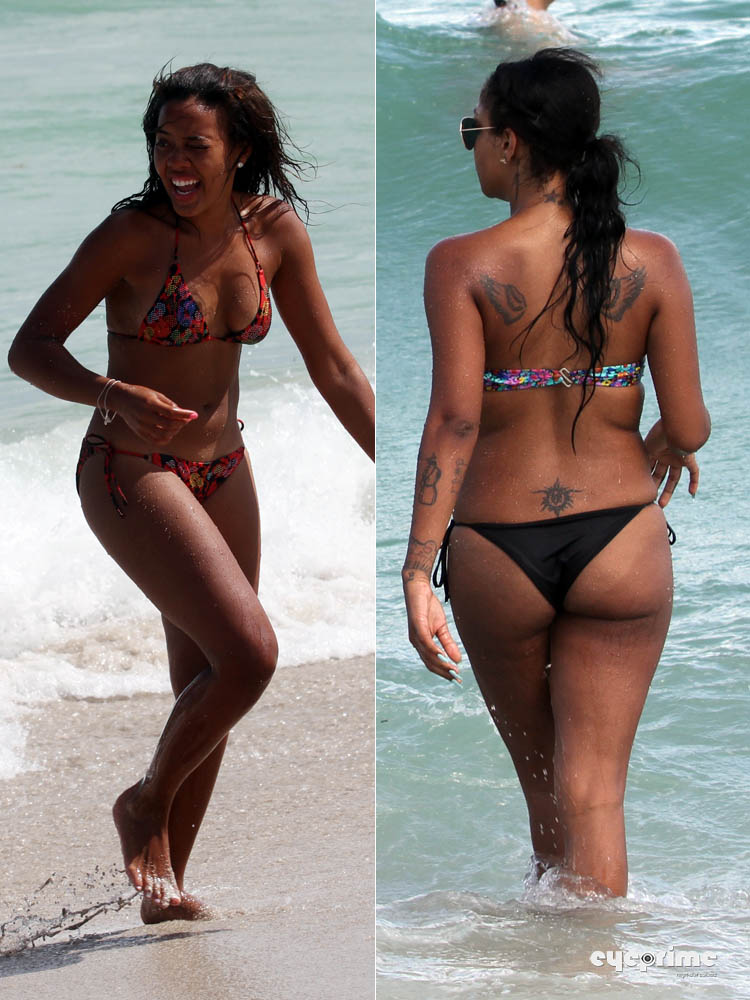 angela simmons bikini. dresses Spotted Angela Simmons