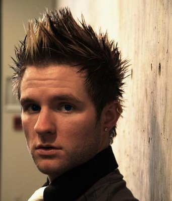mens braided hairstyles. Blake Lewis Fauxhawk Hairstyles For Men