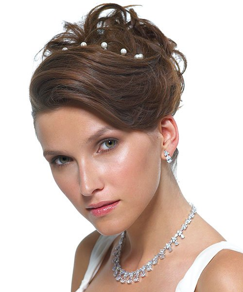 prom hairstyles short hair