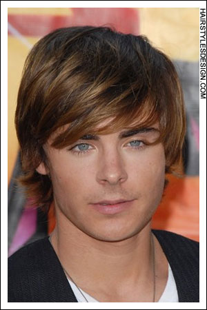 Mens fringe hairstyles in favor of 2008-2009 winter