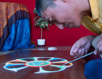 Sands Mandala Creation