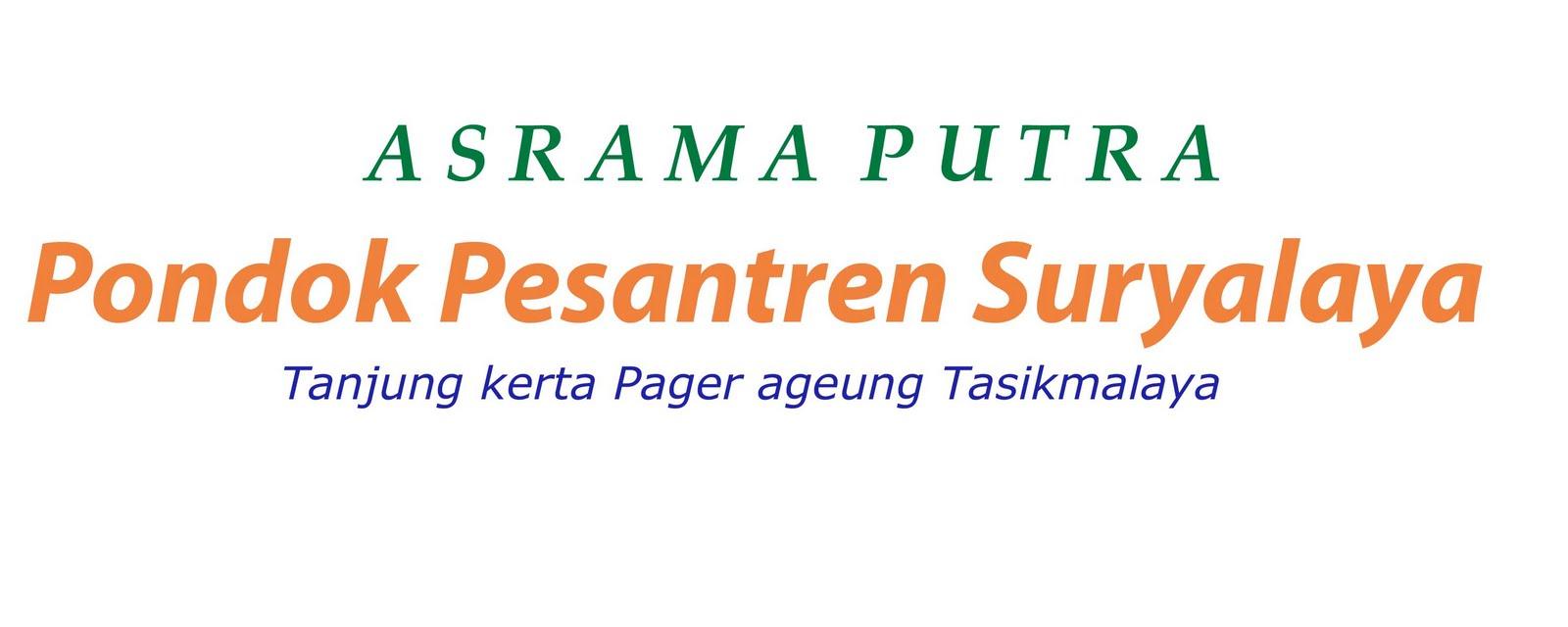ASRAMA PUTRA PP.SURYALAYA