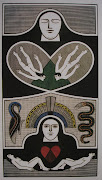 1993A Criação Homem e Mulher. 90,7 x 49,7cm