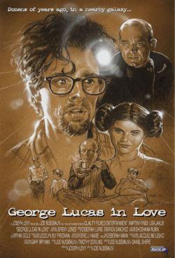 George Lucas in Love affiche
