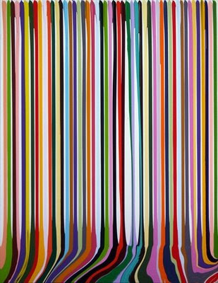 Puddle Painting: Prime II by Ian Davenport