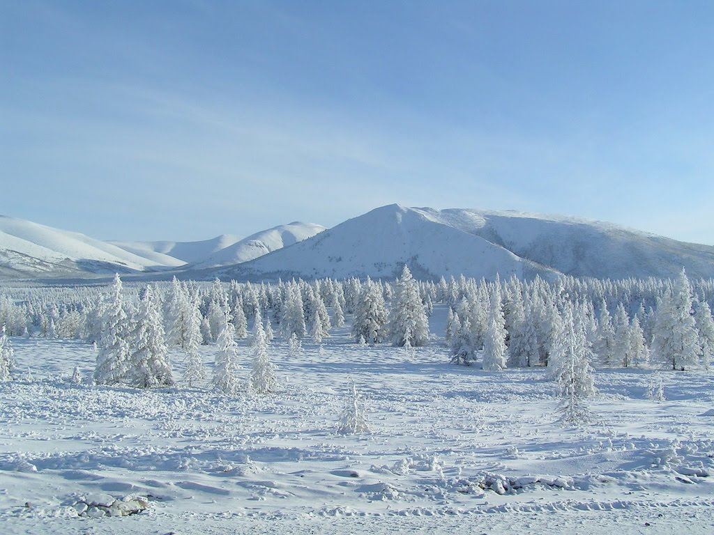 Oymyakon, siberia - the pole of cold