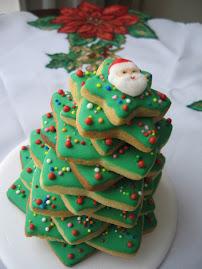 Arbol de Navidad en Galletas