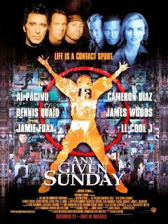 Al Pacino Any Given Sunday poster