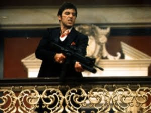 Al Pacino Scarface Say Hello to my little friend