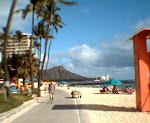 On Waikiki Beach