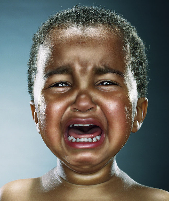 Black Baby Crying