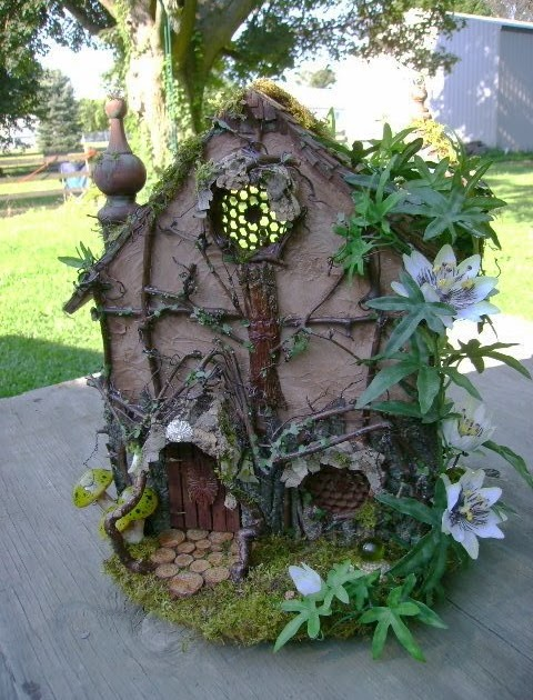 The Fantasy Forest The Grapevine Fairy House Julie