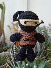 Ninja amigurumi...