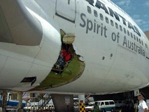 Pesawat Jatuh di Batam