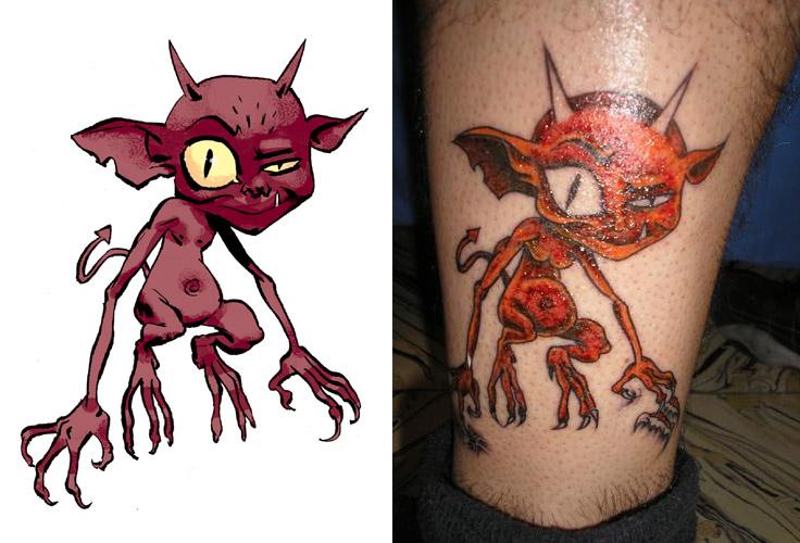 tatuajes reyes. Angelina Jolie y Johnny Depp los reyes del Tattoo. La moda de tatuarse llega