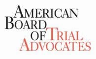 The American Board of Trial Advocates (ABOTA)