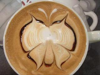 latte butterfly