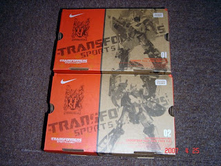 transformers shoes ready to grab by nike and transformers fan