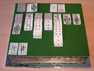 solitaire fan? try solitaire cake. It not for play